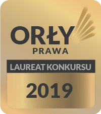Logo Orły Prawa Laureat Konkursu 2019